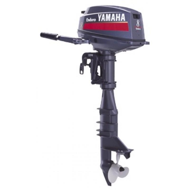 Yamaha enduro e 8 dmhl outboard 2 stroke 15ps 5000rpm for Yamaha enduro 40 hp outboard